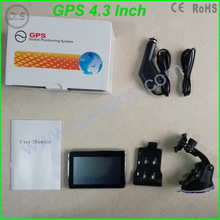 "4.3 inch portable GPS navigator/ high quality & best price 4.3"" GPS navigation with Czech map/ voice"