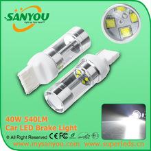 Hotsale turn signal bulb T20 led bulb car lights 40w cree T20 w21w led bulb