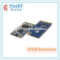 NiceRF Shenzhen Electronics Factory Small Size Embedded SV610 TTL 433MHz wireless remote