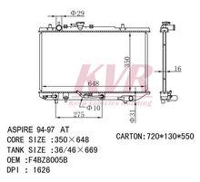 DPI 1626 AUTO RADIATOR FOR FORD OEM F4BZ8005A/F4BZ8005B