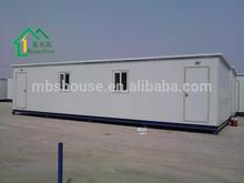 Casa prefabbricata contenitore 40ft la vendita in turchia/eco contenitore casa mobile prefabbricata/spedizione di container prefabbricati le case di prezzo