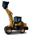 Mini pala cargadora zl20, hidráulica cargadora de ruedas delantera utiliza end loader tractor de granja