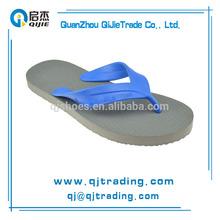 cheap wholesale rubber blue flip flops