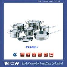 Wholesale kitchenware cooking pot fry pan set
