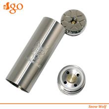best electronic cigarette brand $10 Fat Snow Wolf hookah pen vaporizers mod 26650 stingray mod e-cig sensor
