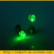 Flashing led earrings party favor