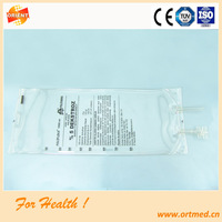 High quality hospital use iv infusion bag