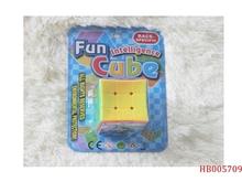 5.7cm Kids Solid Color Concave Shape Magic Cube Promotion Toy
