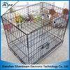 Silver dream hot sale in Europe foldable stainless steel dog cage/pet cage for dog/metal dog cage