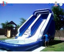 IW0 Top Hot Sale water park inflatable Water Park Slides