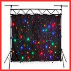 WLK-1F Black fireproof Velvet cloth Four leds star backdrop curtainlight light projector