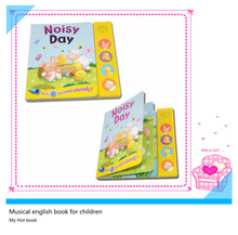 My Hot Audio book with interest music voice pad for children learning