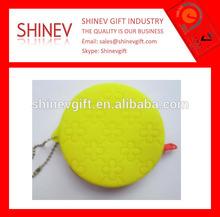 New design custom silicone magazine clutch purse