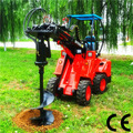 Articulado mini verruma de terra dy620, popular mini-usado terra hole máquina de perfuração