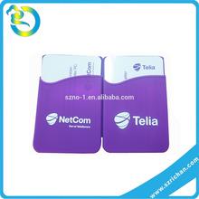 New shape Colorful phone back card sets / mobile phone card pouch / phone back card sets