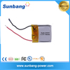 lithium polymer battery cell 3.7v 15mah lipo battery for bluetooth earphone