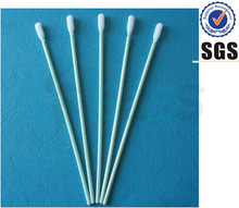 HCY low factory price cleanroom 100ppi. medical industrial disposable swabs brush for micro-electronic Cleaning Foam swab brush
