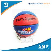 Highly durable custom rubber basketball color