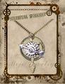Mode 2014 gear mer, compas, conception mécanique meilleur steampunk bijoux collier