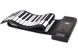 Newest 61 Keys Electronic Roll up Piano, Music Instrument Piano - Midi Out Function