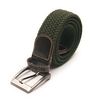 Cheap Webbing Belts Men's Women's 35mm Cotton Fabric Braided-Elastic Belts