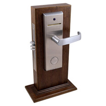 door handle lock with access control system