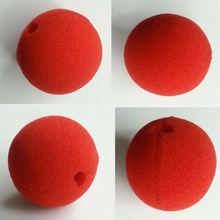 Party red sponge foam clown nose HAL-0005