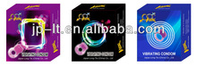 vibrator / vibrating condom manufacturer supplies reusable type sex toy in China
