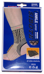 Spandex Ankle Supporter, Elasticated Ankle Supporter (4-WAY STRECHING ) SB3779