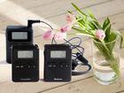 Latest 863-865MHZ UHF Long Distance good quality 5w walkie talkie wireless tour guide system