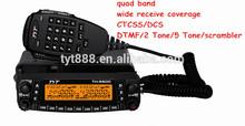 Wonderful 800CH Quad Band Scrambler Repeater ham radio china Transceiver long distance car radio 2tone 5tone mobile radio