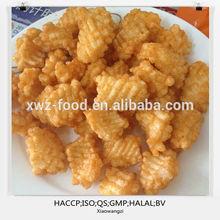 Oil fried snack food