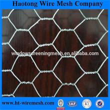 Anping factory hot-dipped galvanized hexagonal wire mesh