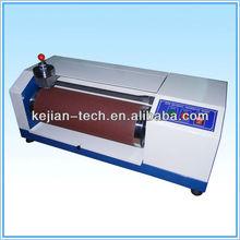 KJ-3025 Shoe soles/conveyor drive belts abrasion resistance test machine/leather industy tester