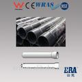 Tamaño grande 10mm-500mm tubos de pvc( con extremo del zócalo) para el suministro de agua