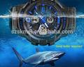 Atacado moda relógios à prova d'água material de aço inoxidável