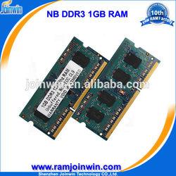 Bulk stock cheap 1gb ddr3 memoria de adaptador for laptop