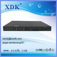 Switch poe 24 porte/24 porta ethernet elettrico Porte/24 Gigabit Ethernet switch PoE