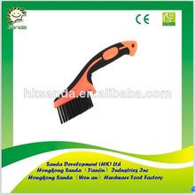 soft grip carbon mini wire wheel brush