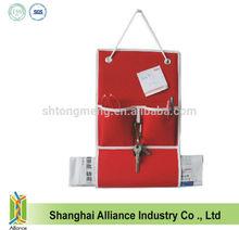 Wall Hanging Newspaper Storage Oragnizer Bag with 3 Pockets