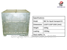 ISO collapsible Iron bulk container