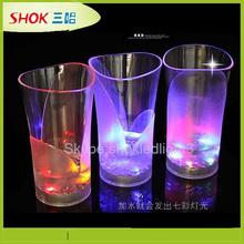 LED plastic cheap custom led flashing cup