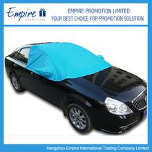 Snow shade waterproof half car cover