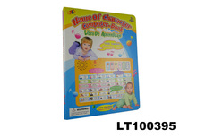 The Newest English and Spanish Language Name of Character Computer Book for learning