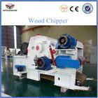 High Output Electric Drum Bangkirai Wood Chipper Machine