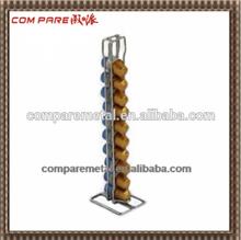 table standing nespresso coffee capsule metal wire hanger