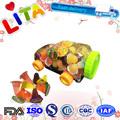 haccp certificado de fruta natural fruity mini géis de brinquedos dos doces