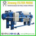 Pequeño laboratorio del filtro prensa hidráulica, www.jwfilterpress.com, skype: jessie. Wei7