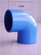 pvc pipe fittings pvc blue pipe elbow for pipe connection