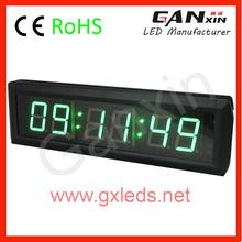 New design remote control radio clock letreiro de led
